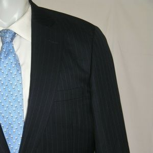 Paul Stuart Silky Powder Two Button Suit 42XL